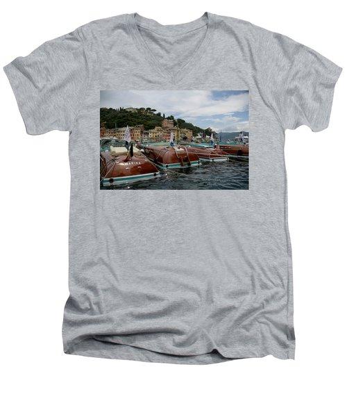 Riva Portofino Men's V-Neck T-Shirt