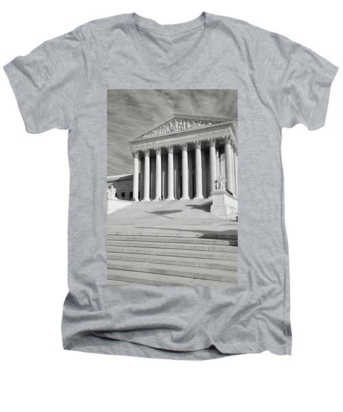 Supreme Court Of The Usa Men's V-Neck T-Shirt
