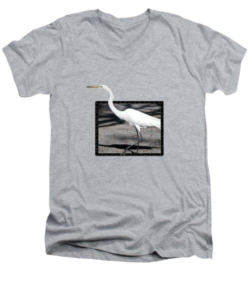 Test Men's V-Neck T-Shirt