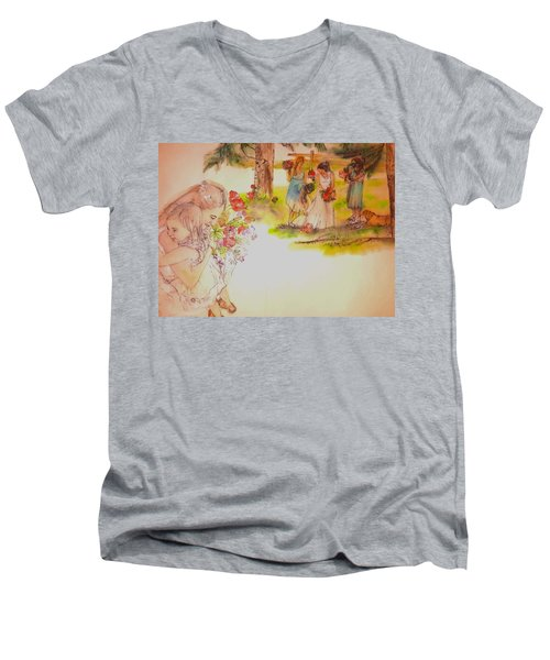 The Wedding Album  Men's V-Neck T-Shirt