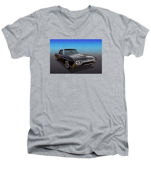 Men's V-Neck T-Shirt featuring the photograph 63 Bird by Keith Hawley