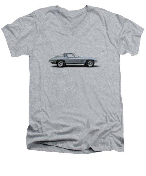 65 Stingray Men's V-Neck T-Shirt
