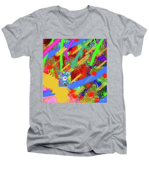 7-18-2015fabcdefghijklmnopqrtuvwxyzabcdefghi Men's V-Neck T-Shirt