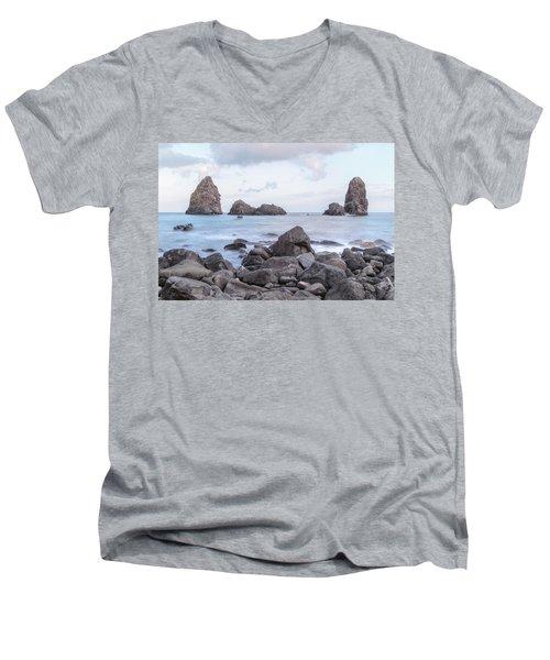 Aci Trezza - Sicily Men's V-Neck T-Shirt
