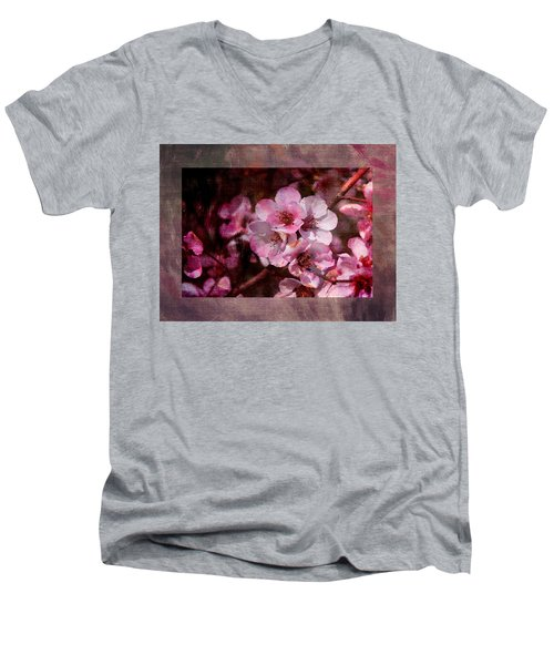 Quince Art Men's V-Neck T-Shirt