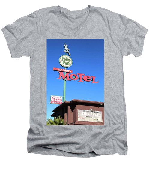 Remnants Of Vintage Vegas Men's V-Neck T-Shirt