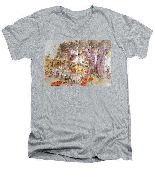 Trees Trees Trees Album Men's V-Neck T-Shirt