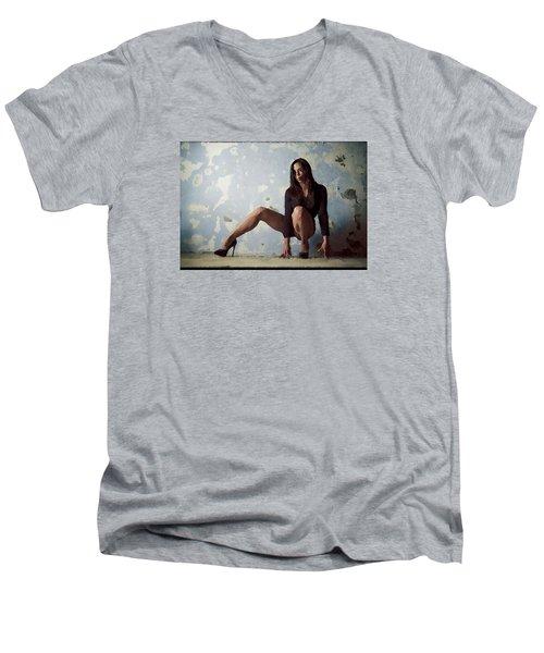Waiting For.. Men's V-Neck T-Shirt
