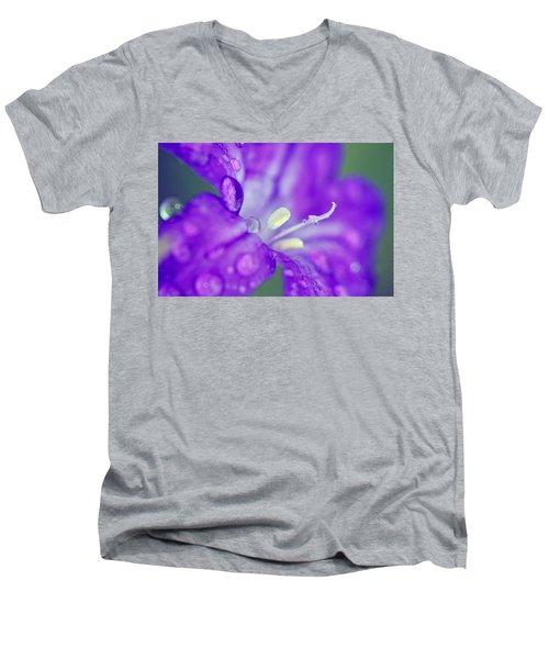 746 Men's V-Neck T-Shirt by Melanie Moraga