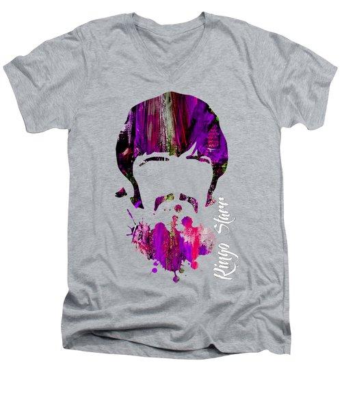 Ringo Starr Collection Men's V-Neck T-Shirt