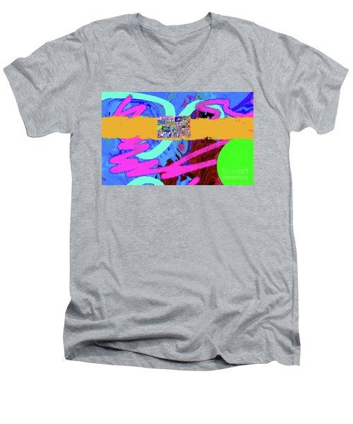 8-2-2057v Men's V-Neck T-Shirt