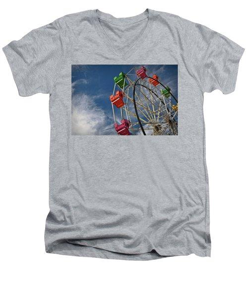 Ferris Wheel Men's V-Neck T-Shirt