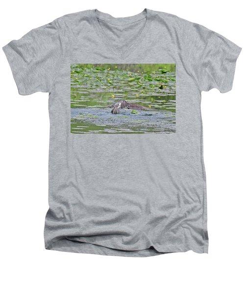 Osprey Fishing Men's V-Neck T-Shirt