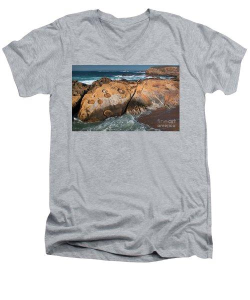 Point Lobos Concretions Men's V-Neck T-Shirt