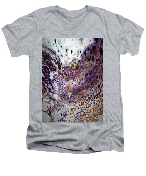 #8 Men's V-Neck T-Shirt