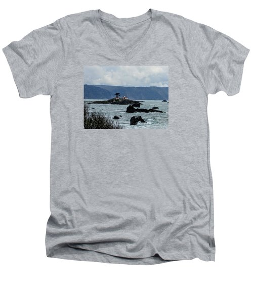 Winter White Men's V-Neck T-Shirt