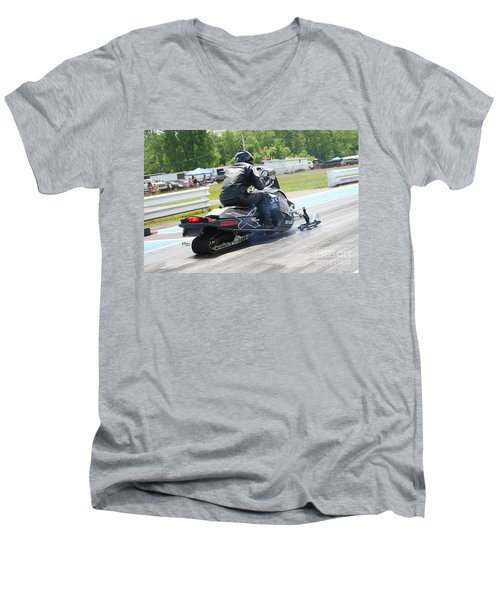 8738 06-15-2015 Esta Safety Park Men's V-Neck T-Shirt