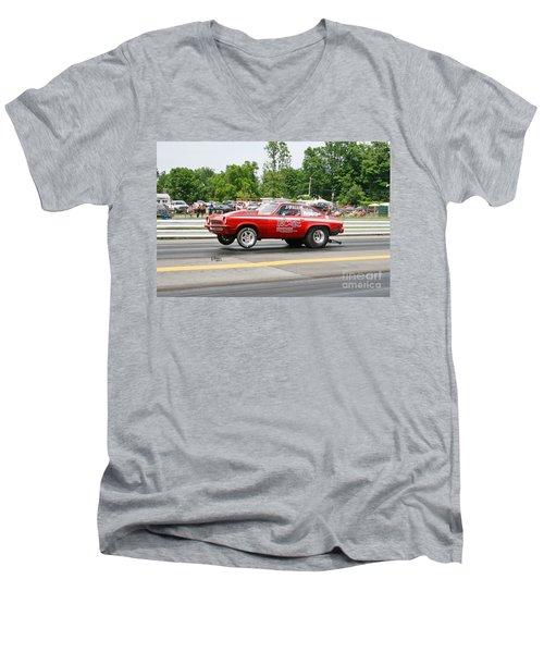 8856 06-15-2015 Esta Safety Park Men's V-Neck T-Shirt
