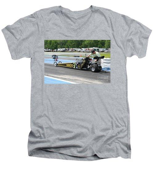 8919 06-15-2015 Esta Safety Park Men's V-Neck T-Shirt