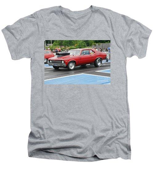 8924 06-15-2015 Esta Safety Park Men's V-Neck T-Shirt