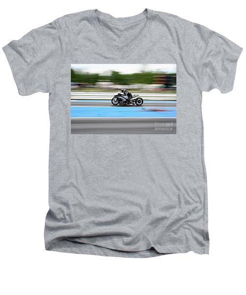 8979 06-15-2015 Esta Safety Park Men's V-Neck T-Shirt
