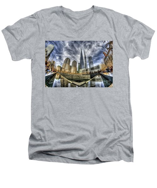 9/11 Memorial - Nyc Men's V-Neck T-Shirt