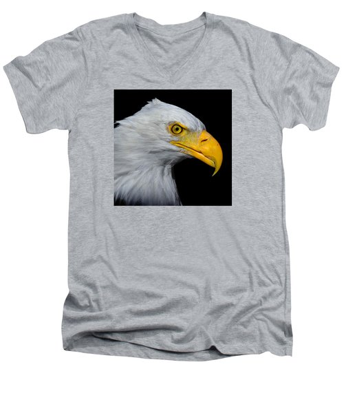 Bald Eagle 2 Men's V-Neck T-Shirt