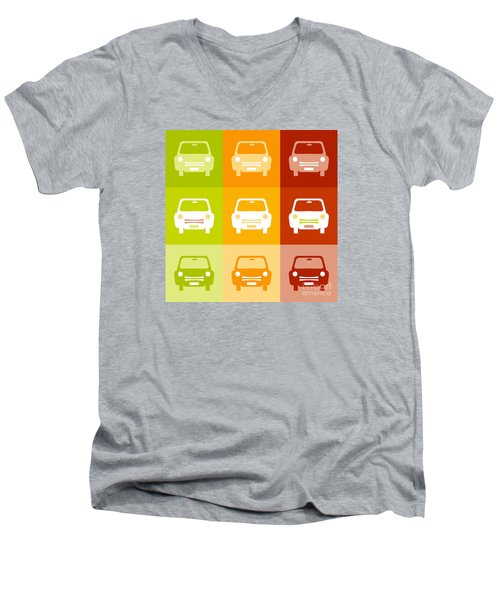 9 Cars Men's V-Neck T-Shirt