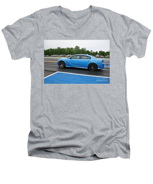 9095 06-15-2015 Esta Safety Park Men's V-Neck T-Shirt