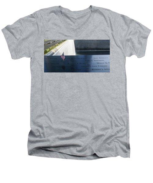 911 Memorial Pool-6 Men's V-Neck T-Shirt