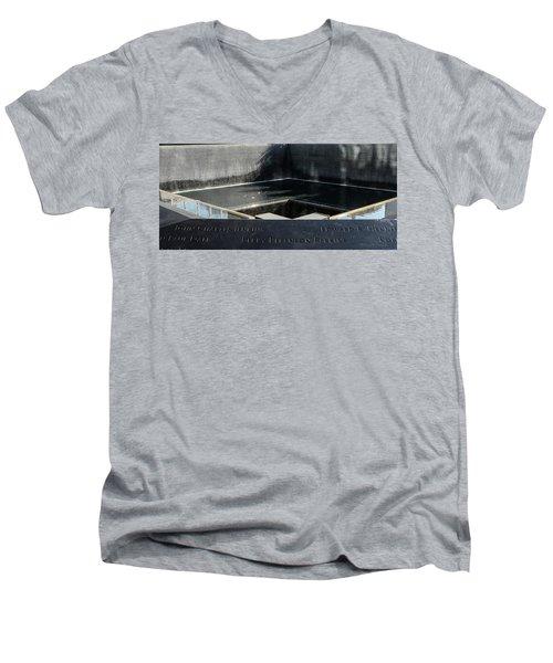 911 Memorial Pool-8 Men's V-Neck T-Shirt