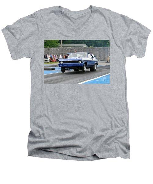 9128 06-15-2015 Esta Safety Park Men's V-Neck T-Shirt