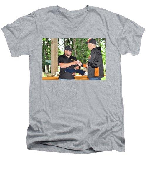 9768 Men's V-Neck T-Shirt