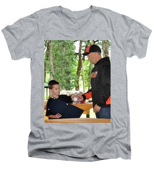9791 Men's V-Neck T-Shirt