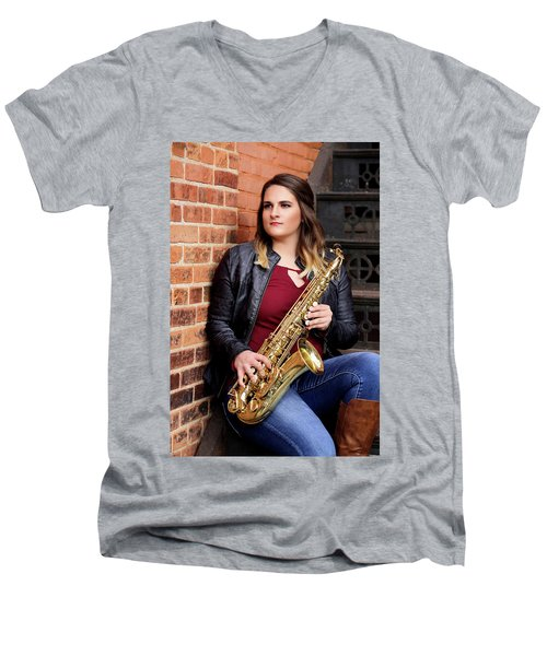 9g5a9476_e_pp Men's V-Neck T-Shirt by Sylvia Thornton