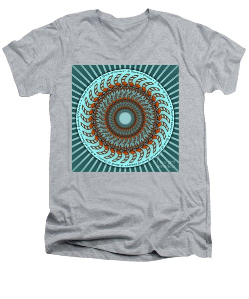 A Band Of Chairs Men's V-Neck T-Shirt