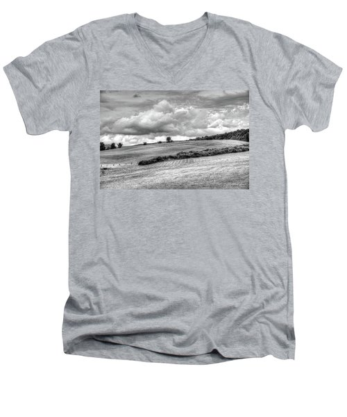 A Berkshire Brae No. 2 Men's V-Neck T-Shirt
