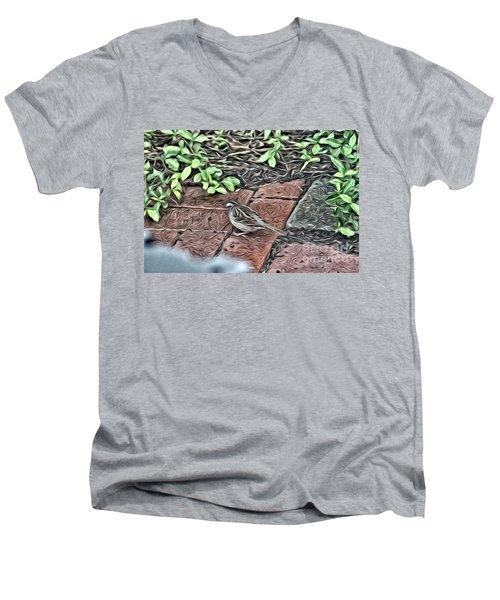 A Birds Life Men's V-Neck T-Shirt
