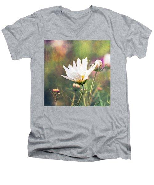 A Bouquet Of Flowers Men's V-Neck T-Shirt