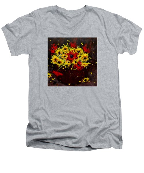 A Bunch Of Happiness.. Men's V-Neck T-Shirt