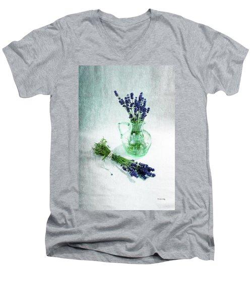 A Bundle And A Bouquet Men's V-Neck T-Shirt
