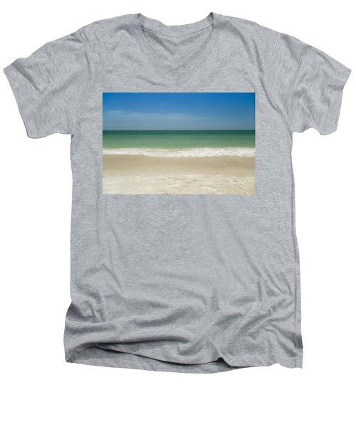 A Calm Wave Men's V-Neck T-Shirt
