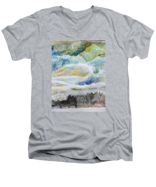 A Canvas I Seen Somewhere Men's V-Neck T-Shirt