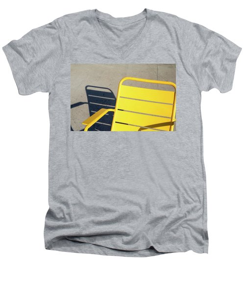 A Chair And Its Shadow Men's V-Neck T-Shirt