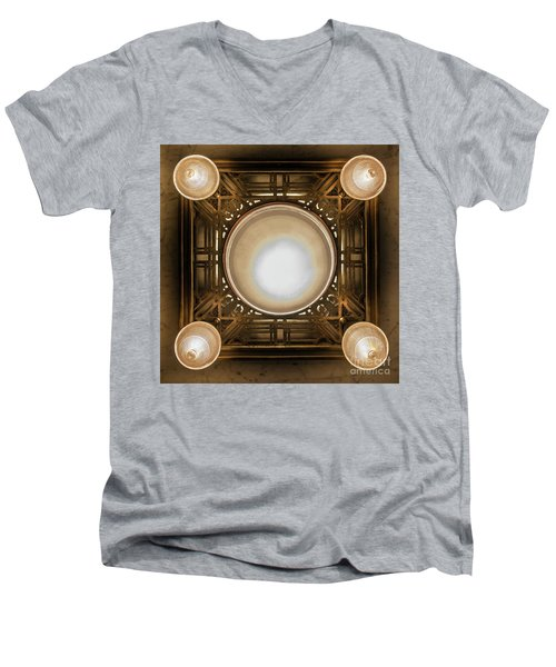 A Chandelier In The Rookery Men's V-Neck T-Shirt