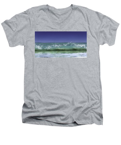 A Clean Break Men's V-Neck T-Shirt