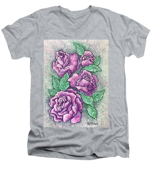 A Corsage For Millie Men's V-Neck T-Shirt