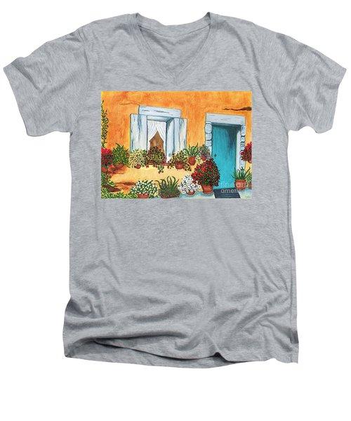 A Cottage In The Village Men's V-Neck T-Shirt