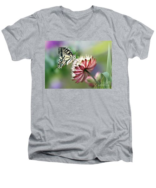 A Delicate Touch Men's V-Neck T-Shirt