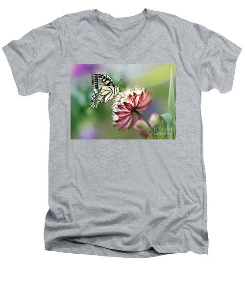 A Delicate Touch Men's V-Neck T-Shirt